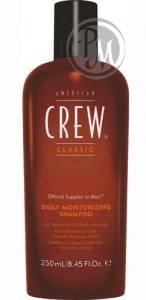 American crew daily moisturizing shampoo шампунь для ежедневного ухода за нормальными и сухими волосами 250мл габ