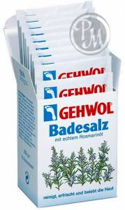 Gehwol соль для ванны с розмарином 10 индивидуальных пакетиков