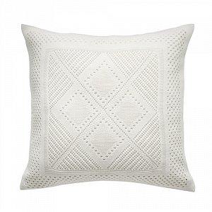 ЛАВФЛЮ Чехол на подушку, белый, четырехугольной формы