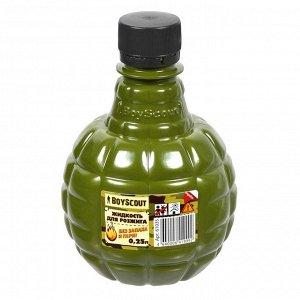 BOYSCOUT Жидкость для розжига парафиновая 0,25л  61035