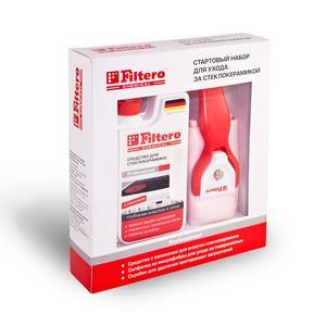 Filtero Набор Стартовый д/очистки стеклокерамики,