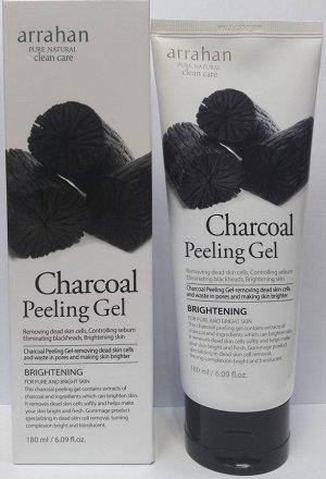 """""""Arrahan"""" Гель отшелушивающий для лица Peeling Gel Charcoal, 180 мл"""