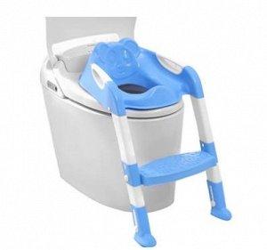 Сиденье-накладка для унитаза со ступенькой SM-HS3110/BL детское