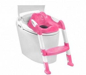 Иденье-накладка для унитаза со ступенькой SM-HS3110/PK детское