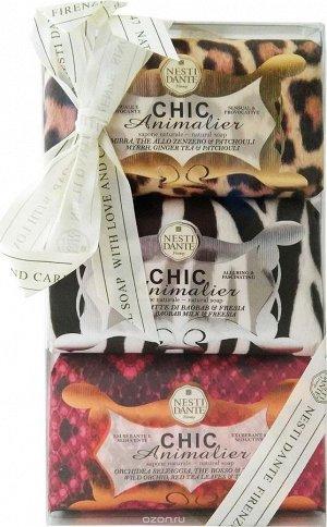 Набор мыла Chic Animalier: Шикарное Розовое & Шикарное Бронза & Шикарное Белое