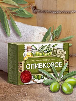 """Мыло """"Оливковое"""""""