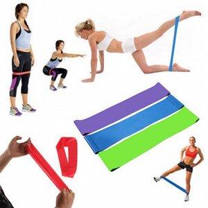 40 упражнений с фитнес-резинкой