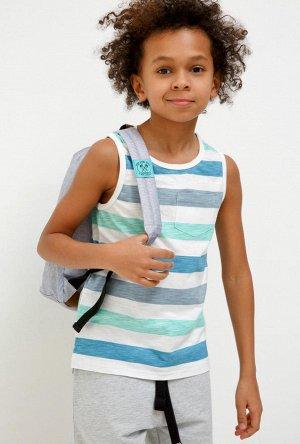 Мaйка детская для мальчиков Stevenson светло-серый