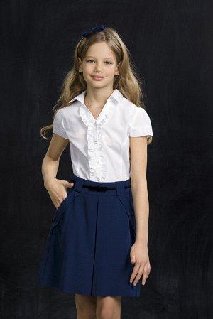 белая блуза для школьницы