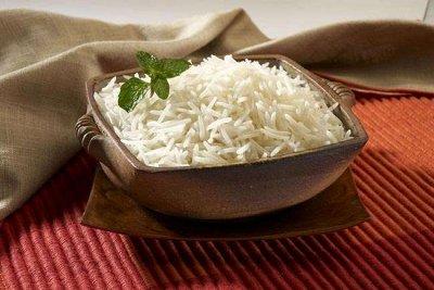 Вкусности. Орехи и сухофрукты - Упаковка от 250гр! — Рис длиннозерный элитный Басмати Индия — Крупы