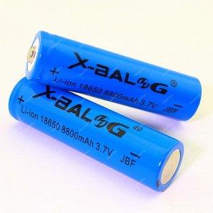Аккумуляторная батарейка X-BALOG 18650 8800mAh 3.7v li-ion