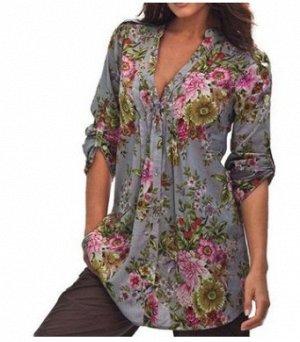 Рубашка женская. Размер 58-60. ОГ(по изделию) 128см.