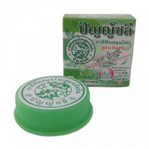 Органическая твердая тайская зубная паста Punchalee на основе натуральных и растительных компонентов