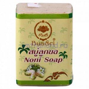 Нежное мыло с нони, медом и кокосовым маслом 90 грамм