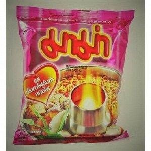 Кисло-сладкий тайский суп Йентафо с морепродуктами