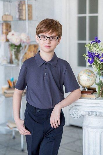 ALO❄LIKA 80. -50% на школьные платья + новинки! — Водолазки, поло для мальчиков — Одежда для мальчиков