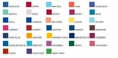 GIULIA: колготки и белье. Быстрая доставка — Цветовая палитра и размерные сетки — Колготки