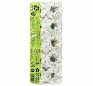 """20148gt """"reFluty"""" Туалетная бумага (вторичное целлюлозное волокно), 30 м, 10 шт/упак."""
