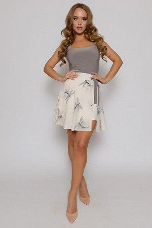 Очаровательный комплект: юбочка со стрекозами и топ от DuSans (Выгодная цена!!!)