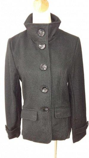 Пальто, цвет черный