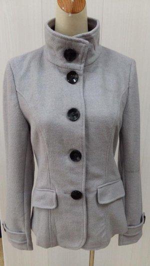 Пальто, цвет серый
