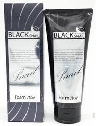 Farm Stay Black Snail Deep Cleansing Foam Пенка для умывания с секрецией чёрной улитки для глубокого очищения180 ml