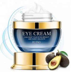 Антивозрастной крем вокруг глаз с коллагеном и гиалуроновой кислотой и авокадо