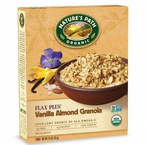 Гранола с ванилью, миндалем и семенами льна Vanilla Almond Flax Plus™ Granola 325 гр СРОК ГОДНОСТИ ДО 15/03/2021