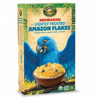 Amazon® Frosted Flakes Органические кукурузные глазированные хлопья 325 гр СРОК ГОДНОСТИ ДО 27.07.2021