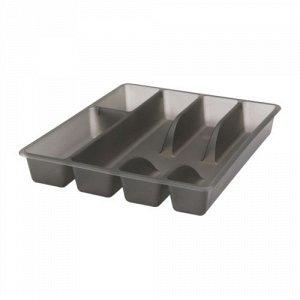 СМЭККЕР Лоток для столовых приборов, серый