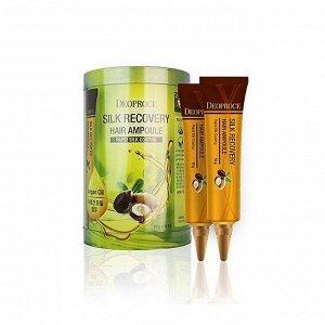 Восстанавливающая сыворотка для волосDeoproce silk recovery hair ampou