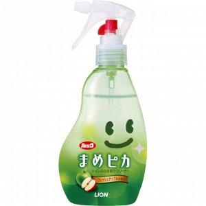 Чистящий и дезинфицирующий спрей для унитаза (Яблочный) пульвелизатор