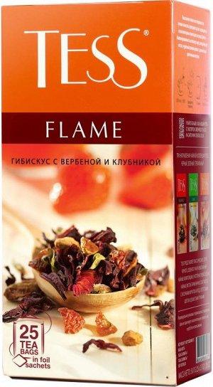 Чай Тесс Flame herbal tea 25пак
