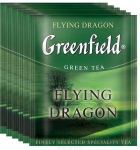 Чай Гринфилд Flying Dragon пакет термосаше в п/э уп. для Horeka 2г 1/100/10
