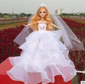 Платье белое с фатой (без диадемы)