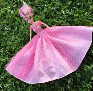 Платье светло-розовое