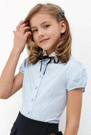 Блузка детская для девочек Muscari голубой