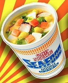 NISSIN Cup Noodle Лапша с морепродуктами,60гр