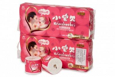 Туалетная бумага. Хит - Любовь матери 4 слойная Premium  — Туалетная бумага и Бумажные салфетки — Туалетная бумага и полотенца