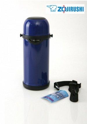 Термос Цвет: АА - синий.Объем: 0.8 л. Температура горячей жидкости в термосе, значения приведены для термоса, заполненного на 100% при начальной температуре жидкости в термосе 95 °C и температуре окру