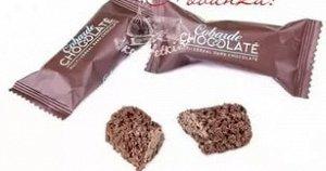 Cobarde chocolate. Мультизлаковая конфета с темным  шоколадом
