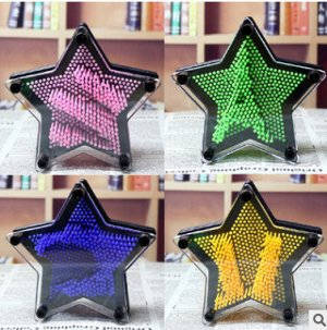 Пинарт 3D звезда 14*4,5*14см