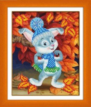 Набор (вышивка бисером) Зайчишка