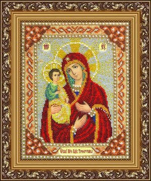 Набор (вышивка бисером) Богородица Троеручица