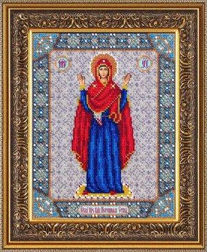 Набор (вышивка бисером) Богородица Нерушимая стена