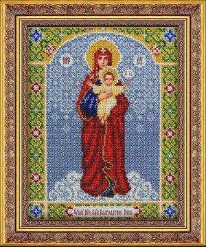 Набор (вышивка бисером) Богородица Благодатное небо