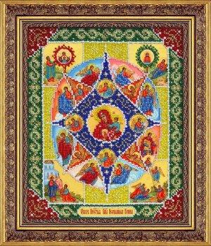 Набор (вышивка бисером) Пр.Богородица Неопалимая купина