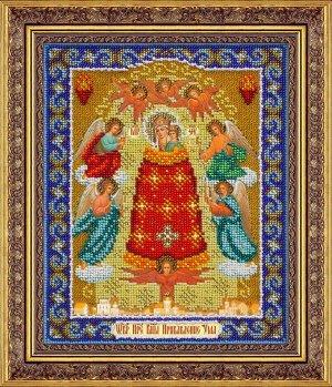 Набор (вышивка бисером) Пр.Богородица  Прибавление ума