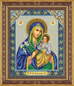 Набор (вышивка бисером) Пр.Богородица Неувядаемы цвет