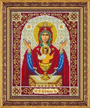 Набор (вышивка бисером) Пр.Богородица Неупиваемая чаша